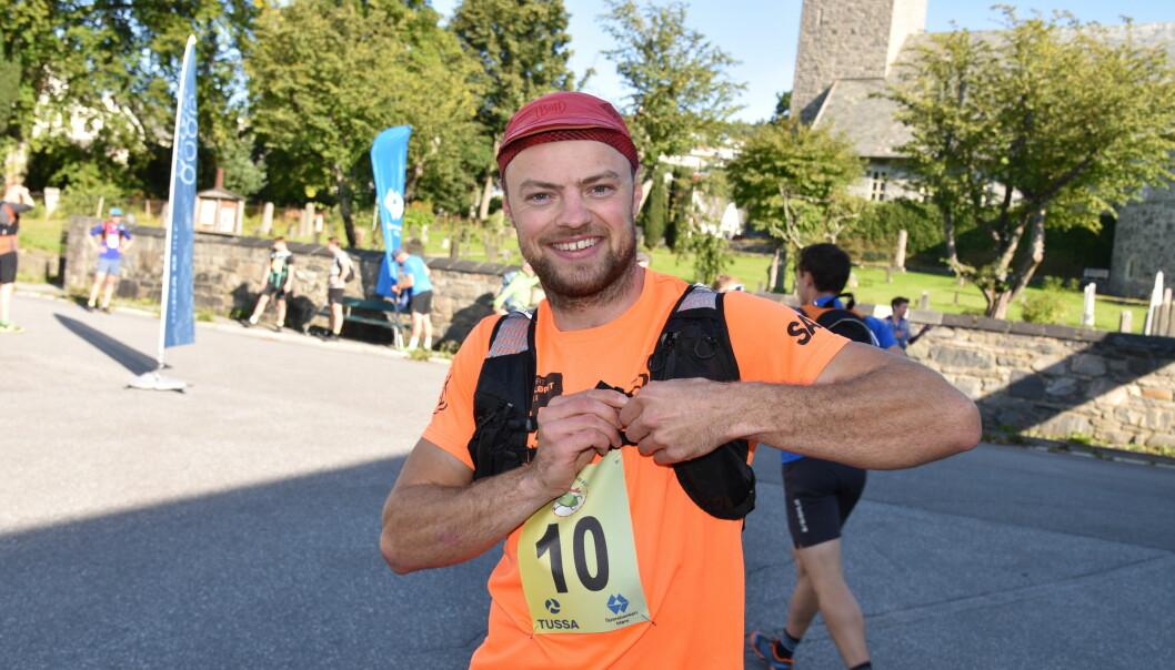BLID: Øystein Ulekleiv vant den første utgaven av Melshornløpet.