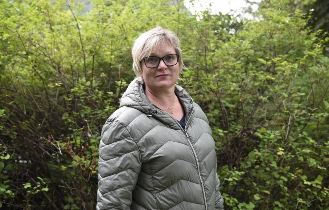 ORDFØRER: Ordfører i Vanylven kommune, Lena Marie Landsverk Sande, forteller at de 58 smittetilfellene kan knyttes til én bedrift.