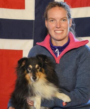 Styreleder: Anita Wiik Løvik er styreleder og instruktør i Ørsta og Volda hundeklubb.