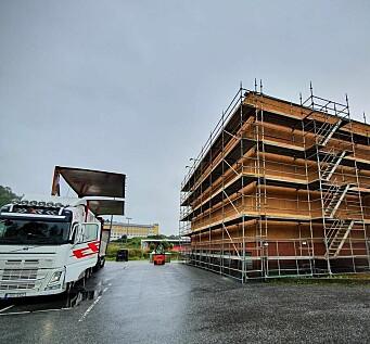 Arbeidene med Herøy kulturhus fortsetter - får konsekvenser for publikum