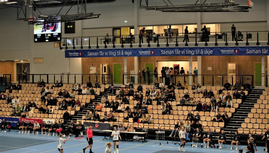 GLISSENT: Volda Håndball håper de vil se flere tilskuere når sesongen starter opp.