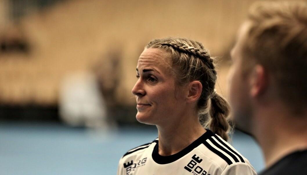 RUTINERT: Ida Alstad har opplevd det meste på handballbanen. I går slo hun Volda i cupen.