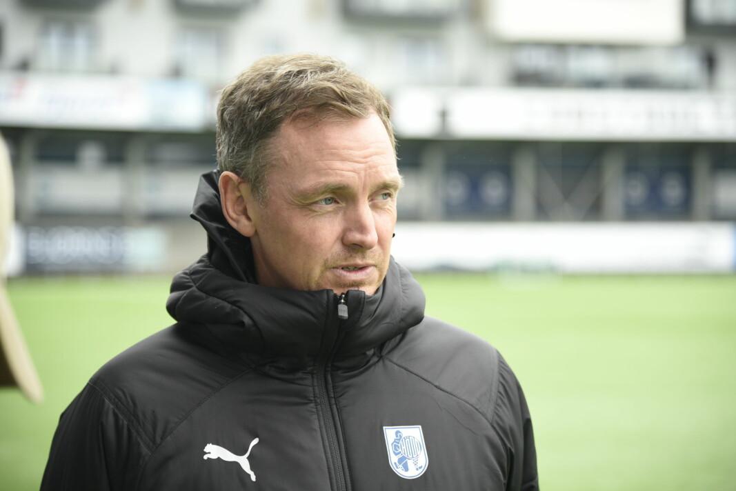 REVANSJE: Hovedtrener for Hødd IL Kevin Knappen satser på revansje og tre poeng i søndagens kamp mot Kongsvinger IL.