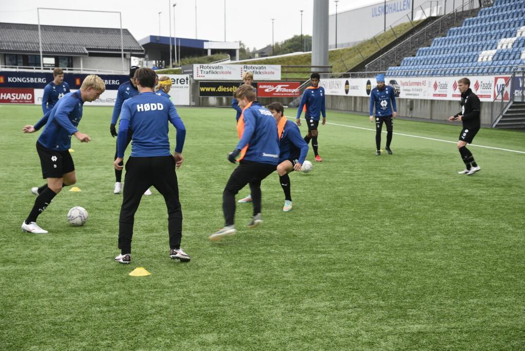 REVANSJESUGEN: Gutta på Hødds A-lag er sulten på revansj mot Kongsvinger.