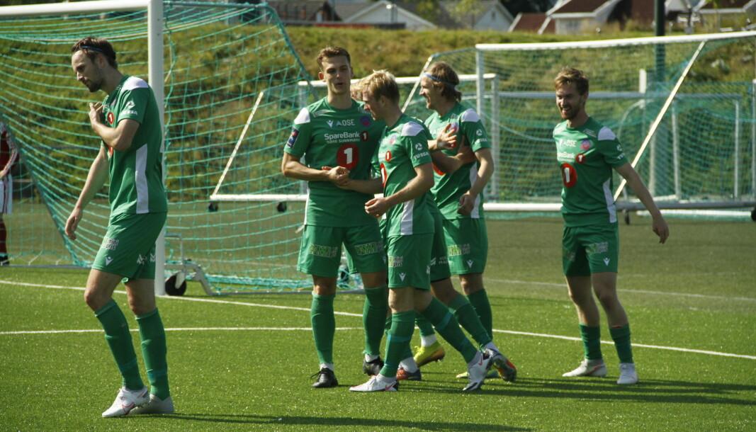 I FLYTSONEN: Volda har motbevist mange i sesongåpningen og befinner seg på en femteplass i 3. divisjon.