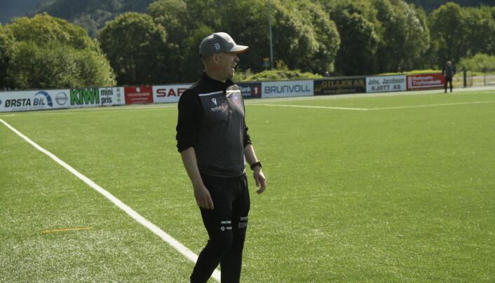 KLAR: Volda-trener Lars Petter Rønnestad.