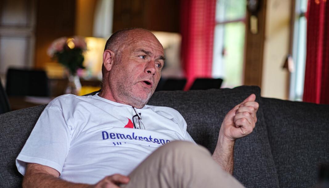Kjell Vigleik Aasen i Demokratene har levd et innholdsrikt liv og har mange meninger. Enkelte av hans utspill skaper sterke reaksjoner.