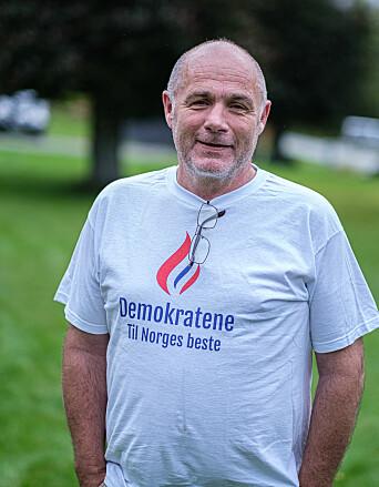 Kjell Vigleik Aasen har tro på at Demokratene vil få plass på Stortinget.