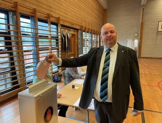 Ordføreren: – Viktig at alle bruker stemmeretten