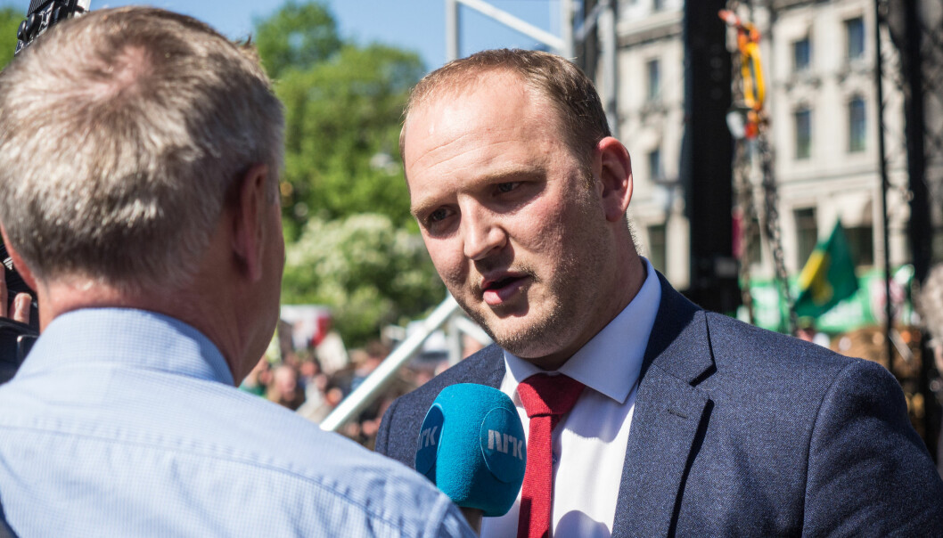 DEN GANG DA: Jon Georg Dale, fra Volda, åpner for politiker-comeback.