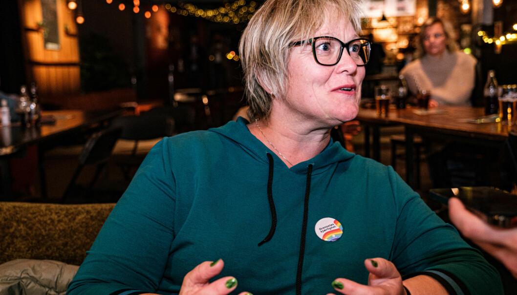 SPENT: Lena Landsverk var ikke i det optimistiske hjørnet før første prognose.