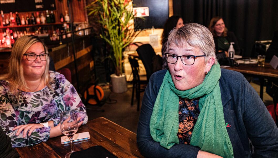 GODE PROGNOSER: Birgit Oline Kjerstad i SV tar ingen gleder på forskudd.