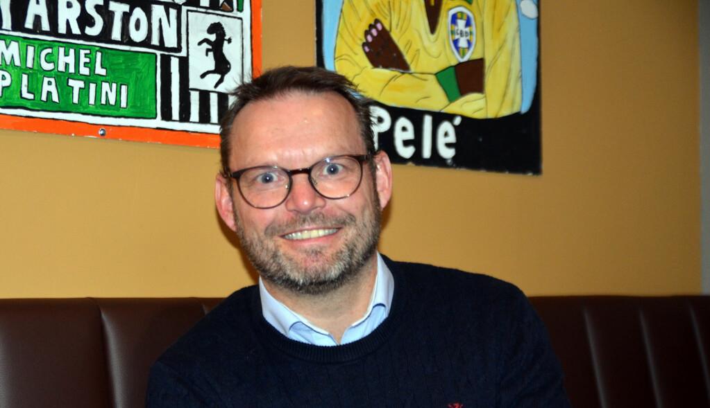 SKRYTER: Knut Erik Engh (Frp) - ordfører i Ulstein kommune.