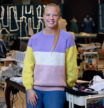 DELTAGER: Margrethe Oma (30) er en av tolv deltagere i NRK-programmet Symesterskapet.