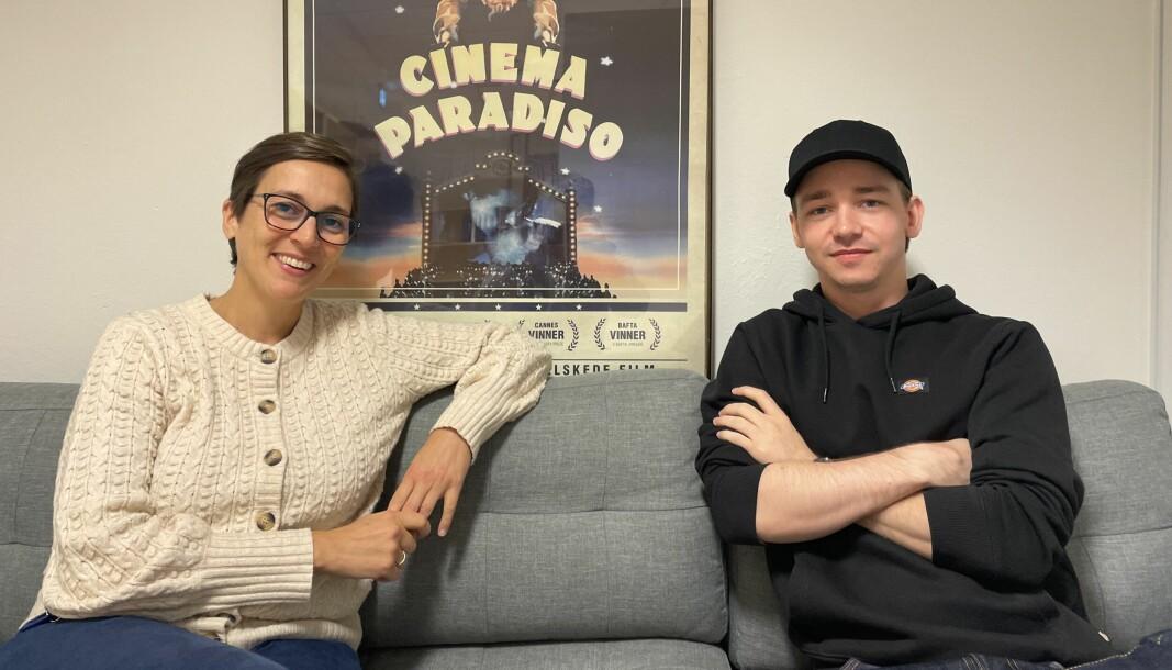 NYTT KULTURTILBUD: Kristina Bjørdal Kostopoulos og Mats Dahlesvoren ønsker å gi et nytt kulturtilbud til Volda.