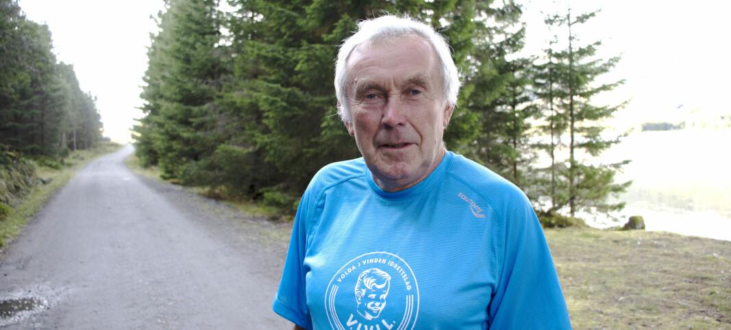 Knut (74) har løpt intervaller hver mandag i 20 år