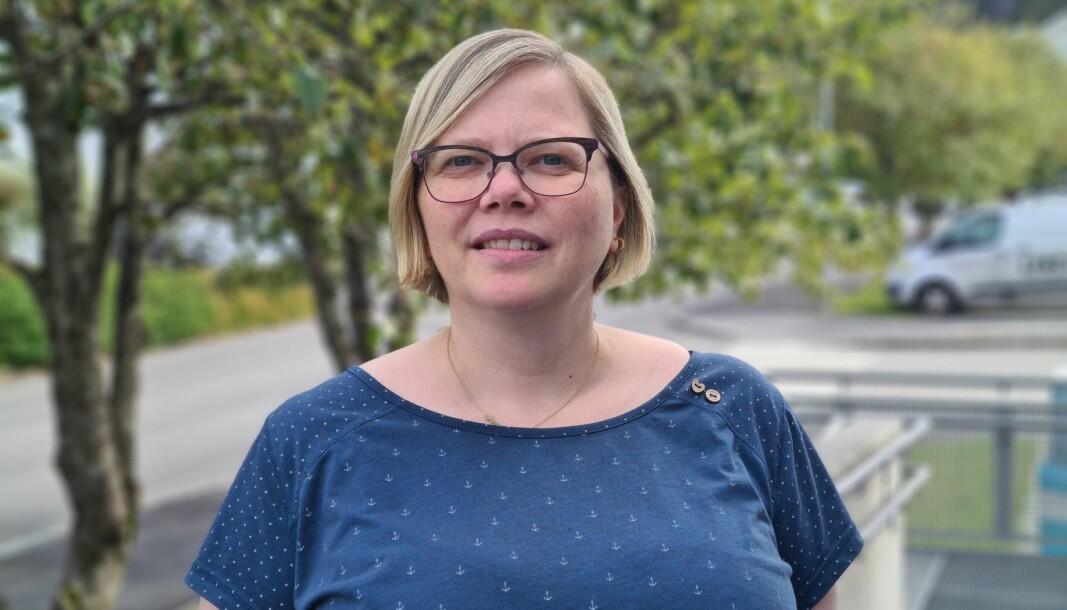 FORNØYD: Marte Skrede Hide i Sosialistisk Venstreparti (SV) i Herøy er fornøyd med regjeringskiftet, og håper partiet kan bidra til å jevne ut forskjeller.