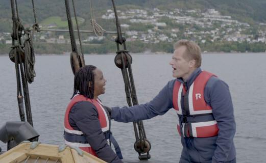 Storeggen krysser Voldsfjorden