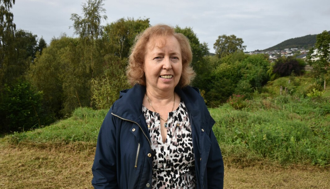 PINNSVINELSKER: Judith Gautestad (68) tar pinnsvinenes velferd på alvor.