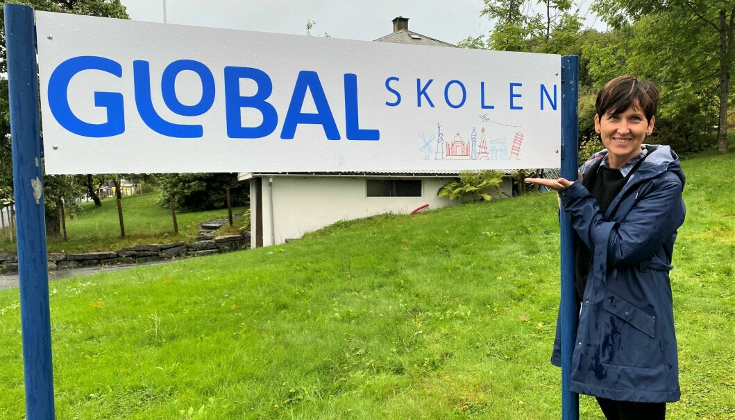 HJEMMEKJÆR: Lilli Brenner Røv ønsker at Globalskolen skal forbli i Volda kommune.