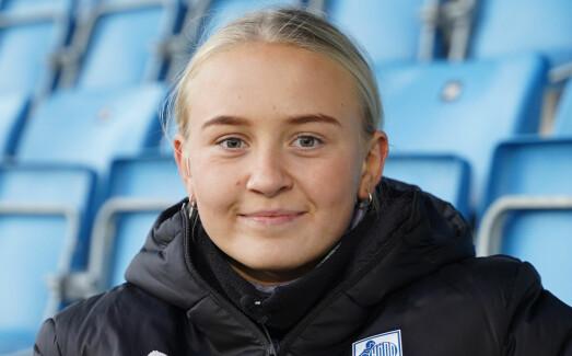 Madelen Eid (16): – Jeg har satsa på fotball hele livet