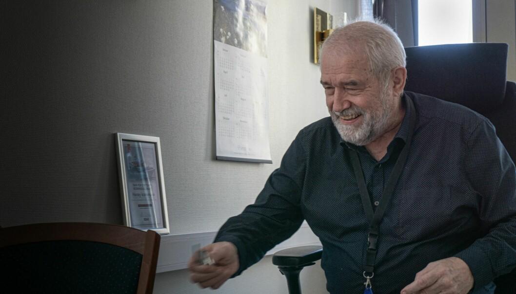 KAN JUBLE: Bjørn Prytz (Ap) liker at store filmer legges til Søre Sunnmøre.