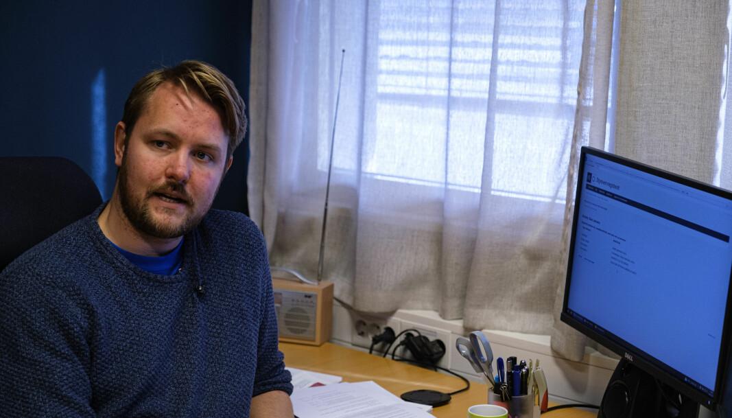 Varaordførar Stian Lehmann Scheide finn ein i styrevervsregisteret. Noko som gjer kommunen meir open