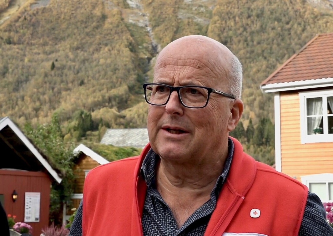Kjell Bjarne Eikebø i Ørsta Røde Kors