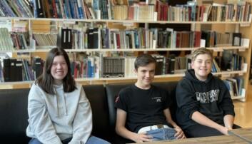 Helene, Sander og Reidar mener foreldrene har et visst ansvar for hvordan barn og unge bruker nettet.