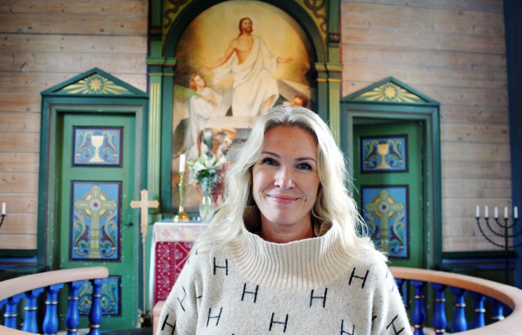 SOKNEPREST: Margit Lovise Holte tror den norske kirke har gått glipp av mange flinke prester gjennom tidene, fordi kvinner tidligere ikke har fått lov til å bli prester. Også i dag kan Holte og flere bli møtt med motstand på grunn av valg av yrket.