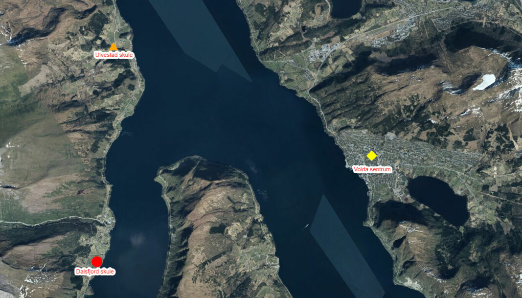 Dei sju kilometerane frå Ulvestad til Dravlaus var avgjerande då dei etablerte privatskulen.