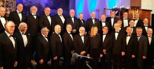 Har sunget i 100 år - snart holder Volda mannskor jubileumskonsert