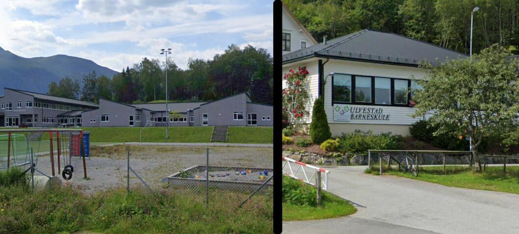 I Dalsfjord er det to barneskular ei halv mil frå kvarandre, som deler på 32 elevar