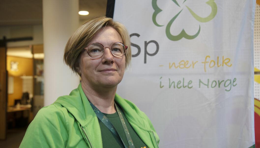 GUNSTIG: Voldas ordfører, Sølvi Dimmen er positiv til et tettere samarbeid mellom Ørsta og Volda. Hun mener det er gunstig for trygghet og utvikling i regionen.