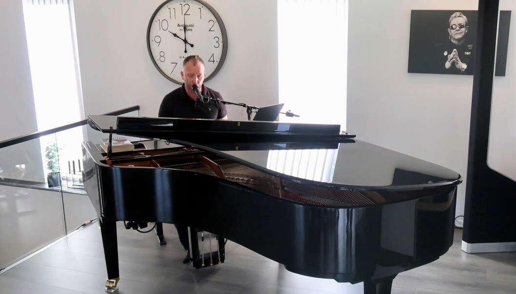 – Å drive med musikk er som å drive med idrett – den mest undervurderte form for trening er kvile, seier Kjetil Grodås.