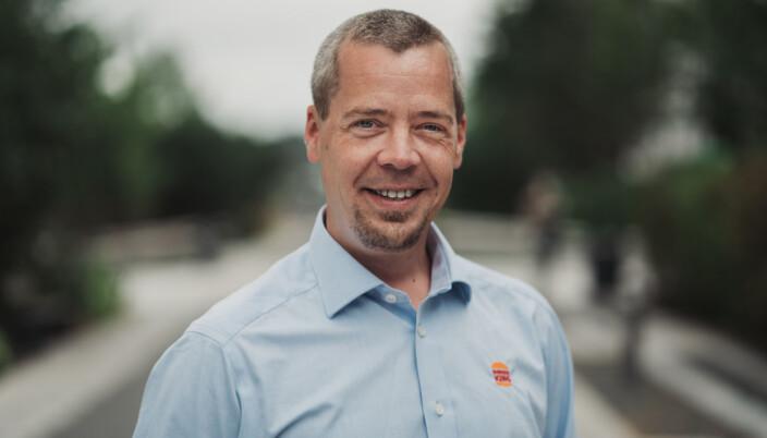 Sjef i Burger King Norge, Olav Bæverfjord.