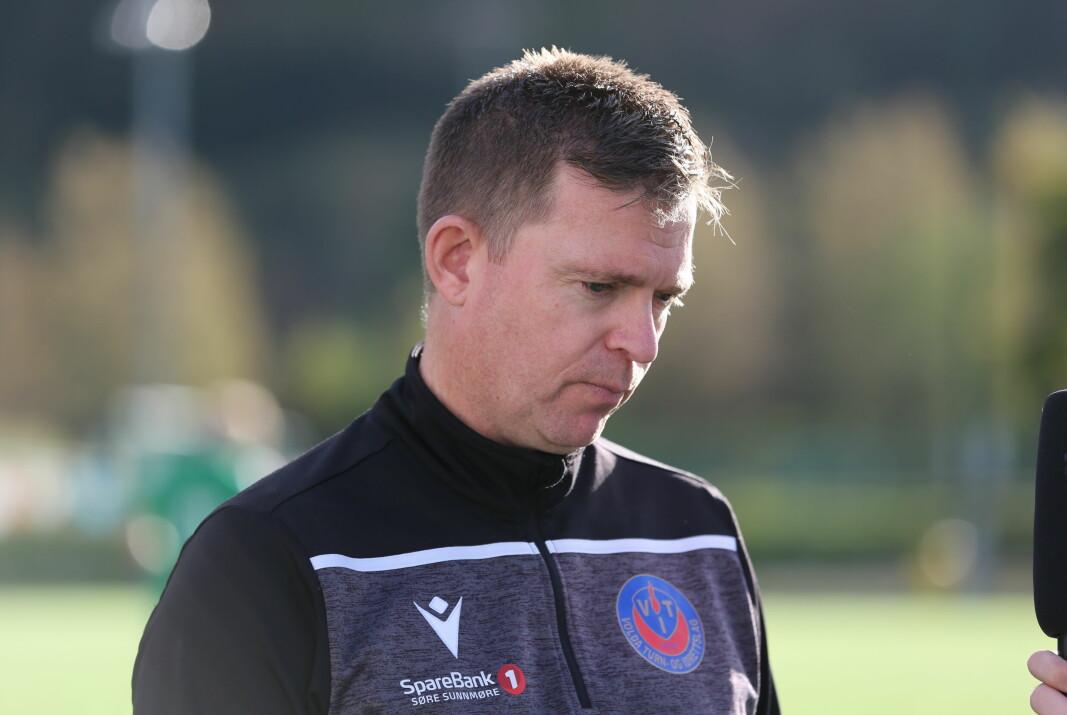 TAUS: Lars Petter Rønnestad har kontrakt med Volda ut denne sesongen.