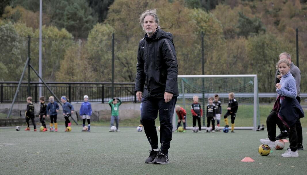 Jan Åge Fjørtoft kjørte sin versjon av «Mesternes Mester» med ungene på River Plate.