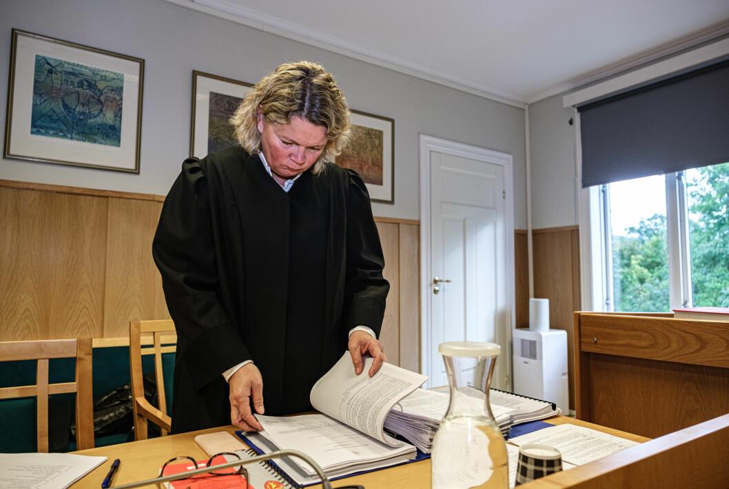 STATSADVOKAT: Ingvild Thorn Nordheim mente samfunnsstraff var passende for mannen fra Sunnmøre.