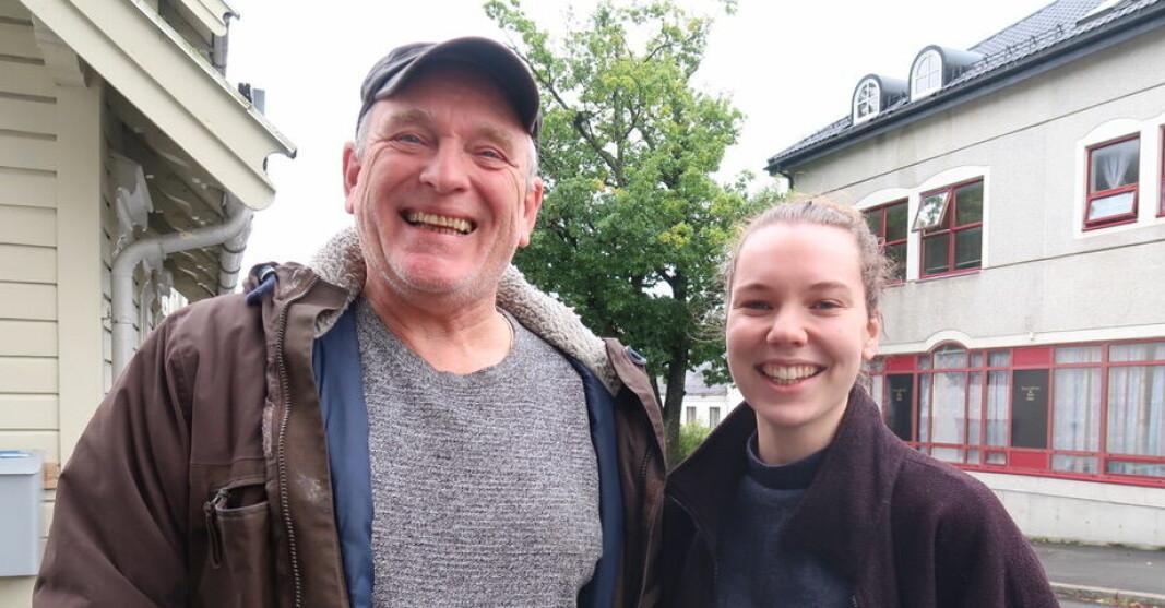 Øyvind (62) og Martha (22) åpner kulturfest