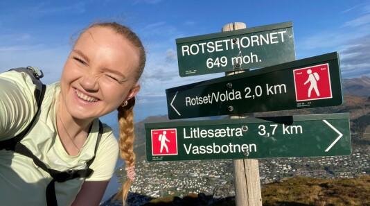 SE VIDEO: Carolyn (23) gikk Rotsethornet fem dager på rad
