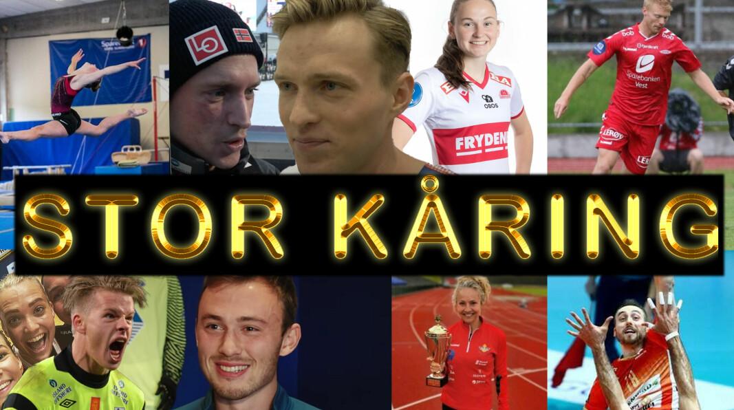 Hvem er Søre Sunnmøres beste idrettsutøvere?